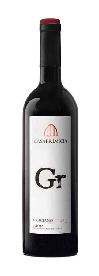 2012 rioja graciano bodegas casa primicia songbird wine - Bodegas casa primicia ...